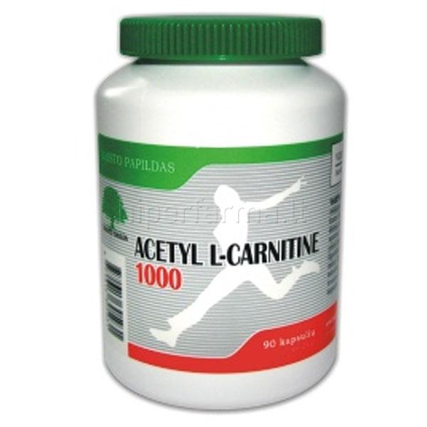 Maisto papildas SWANSON Acetyl L-karnitinas mg N | topfilmai.lt