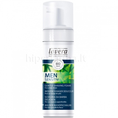 Putos švelnios skutimosi Men Sensitive Lavera 150ml