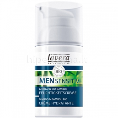 Kremas maitinamasis drėkinamasis Men Sensitive Lavera 30ml