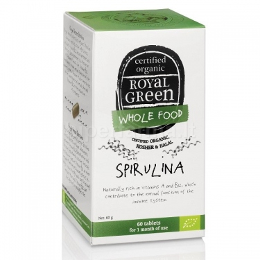 Maisto papildas BIO Spirulina 1000 mg Royal Green N60