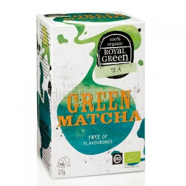 Arbata BIO Green Matcha 1.7g Royal Green N16
