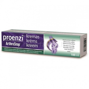 Kremas Proenzi® ArthroStop® 100ml