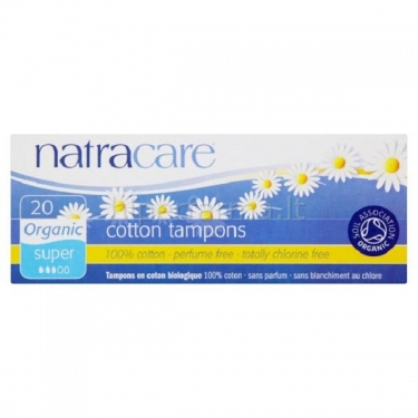 Tamponai Super Plus NATRACARE N20