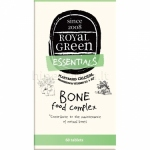 Maisto papildas Bone food kompleksas (Ca, Mg, D3, K2) Royal Green N60
