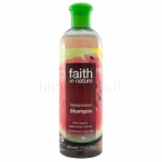 Šampūnas su arbūzais FAITH IN NATURE 400ml